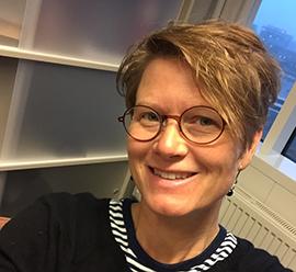 Christina Lindkvist Scholten är forskare vid K2 Foto: Kennet Ruona