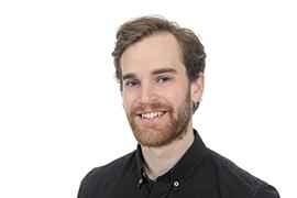 Erik Johansson är doktorand vid K2 Foto: Kennet Ruona