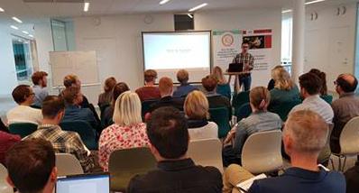 Bild från workshopen om cykel och kollektivtrafik