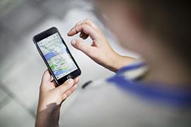 Tanken bakom integrerade mobilitetstjänster är att förenkla fö resenären att boka och betala sina resor.  Foto: Linus Sundahl-Djerf/SvD/TT