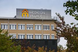 Det är väldigt enkelt att köra bil till Medicon Village Foto: News Øresund - Johan Wessman (CC BY 3.0)