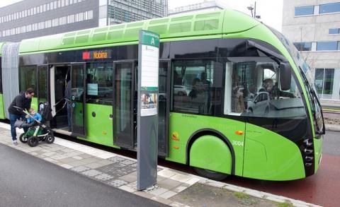 Buss i Malmö