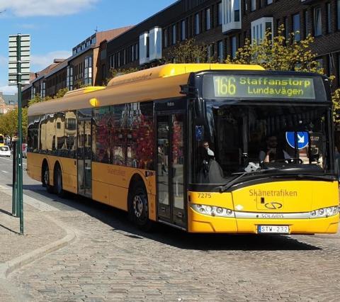 buss i Lund