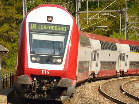 Tåg i Luxemburg