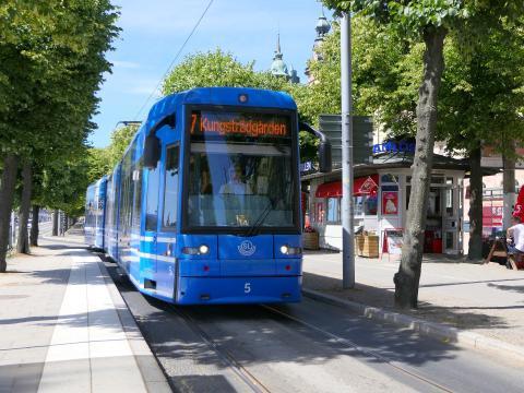 Spårbunden kollektivtrafik i Stockholm